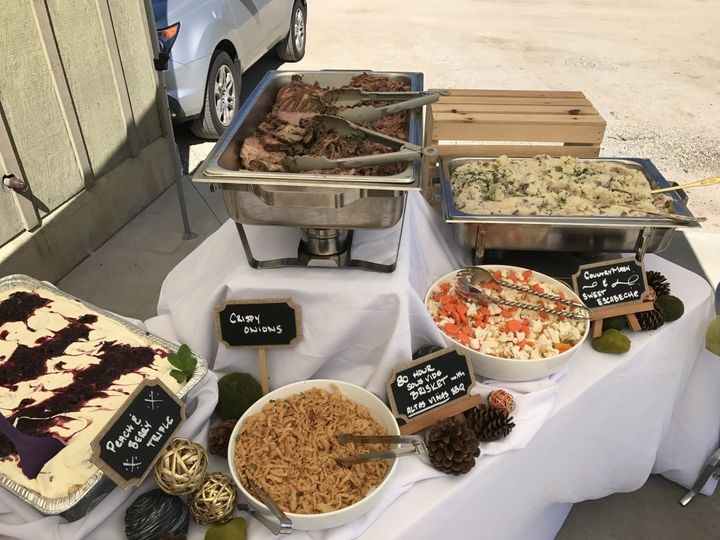 Buffet staion
