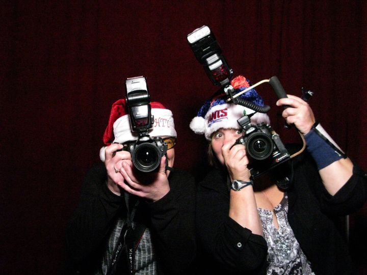 2 of Avon MotoPhoto's Photographers have a little Photo Booth Fun!!