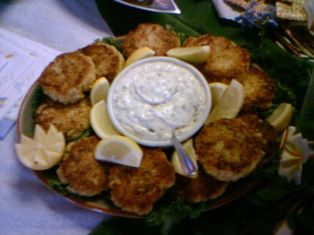 Jumbo Lump Crab Cakes From Capt. Briens Seafood in Marco Island, Fl