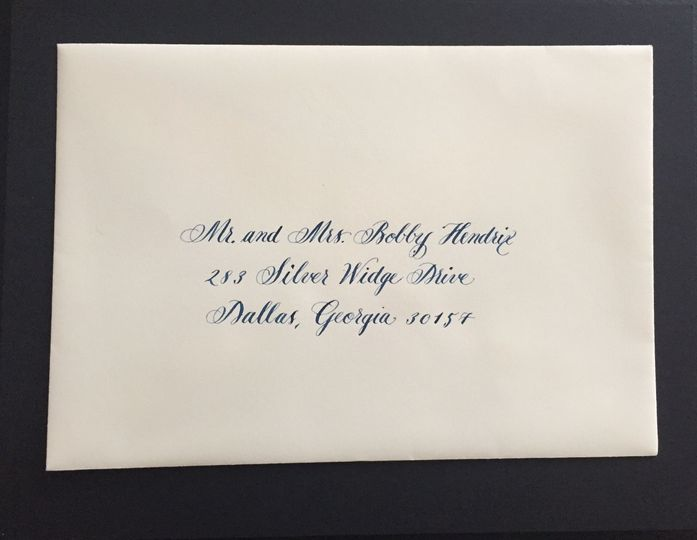 Dede Adams Calligraphy