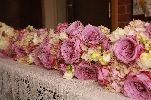 Wedding table bouquet