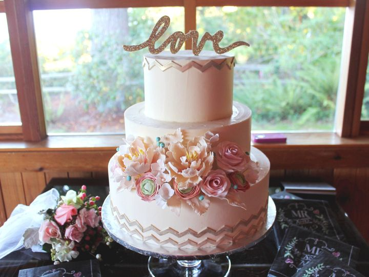 Tmx 1419893343183 Img1613 1 Snohomish wedding cake