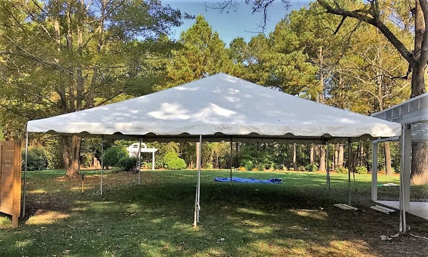 30x30 ewing tent