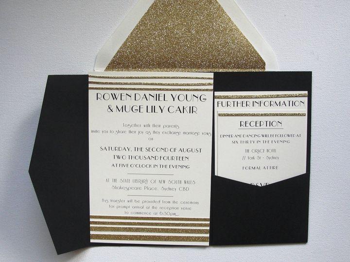 Tmx 1403057661658 Samples 009 Middle Village wedding invitation