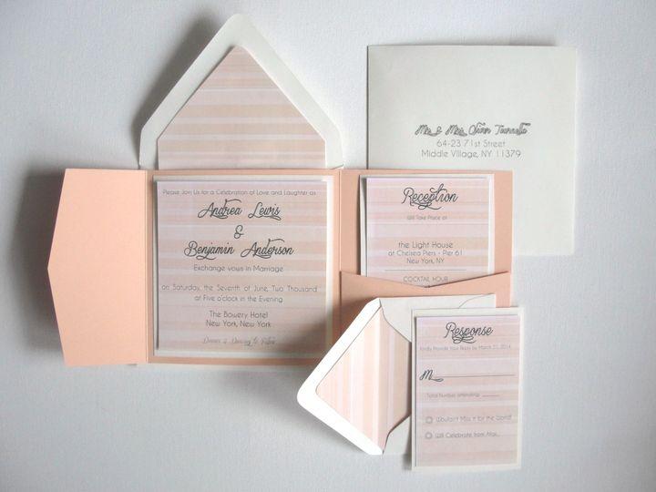 Tmx 1403057756984 Invitation Samples 015 Middle Village wedding invitation