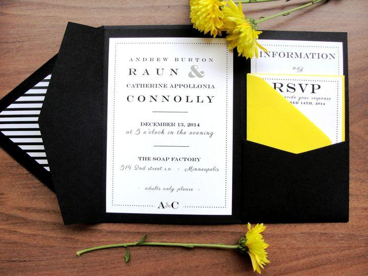 Tmx 1413770370689 New Samples 2 025 Middle Village wedding invitation
