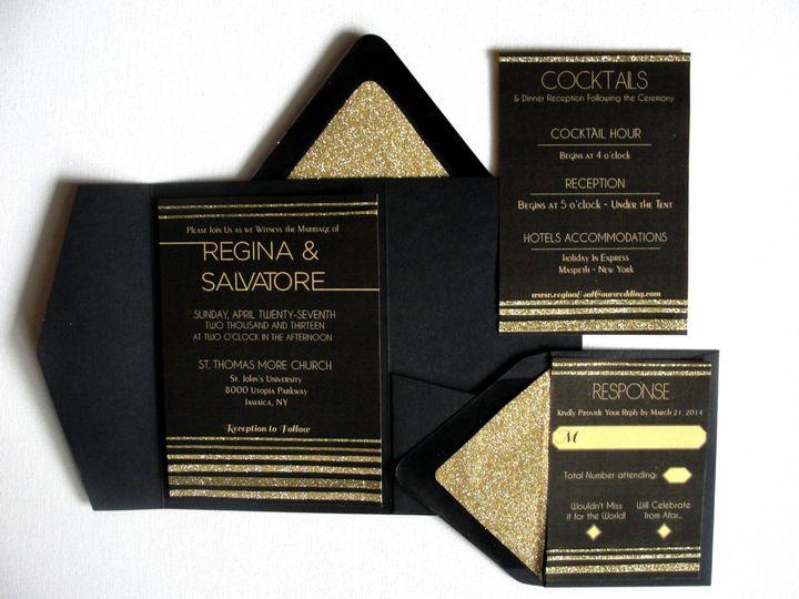 Tmx 1414006693713 Invitation Samples 031 Middle Village wedding invitation