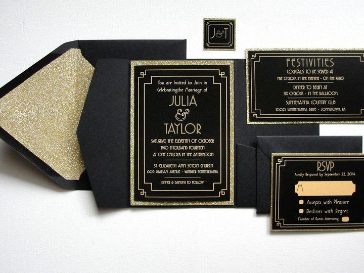Tmx 1414008319919 Samples 006 Middle Village wedding invitation