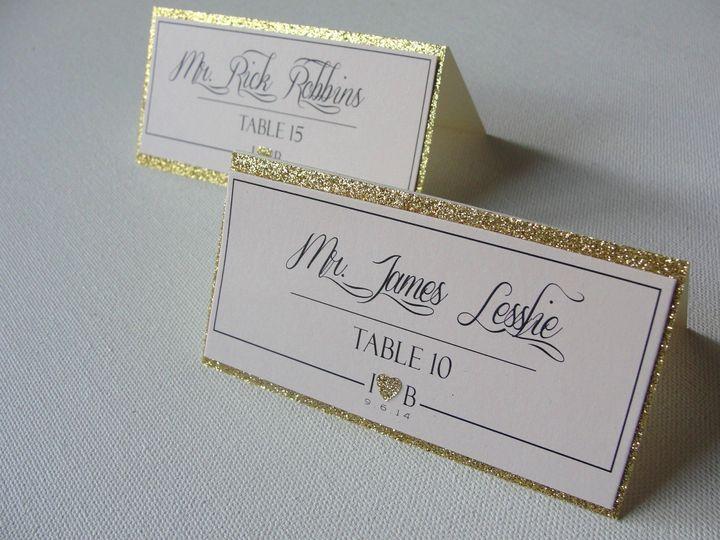 Tmx 1414008397409 Samples   Glitter Hearts 005 Middle Village wedding invitation