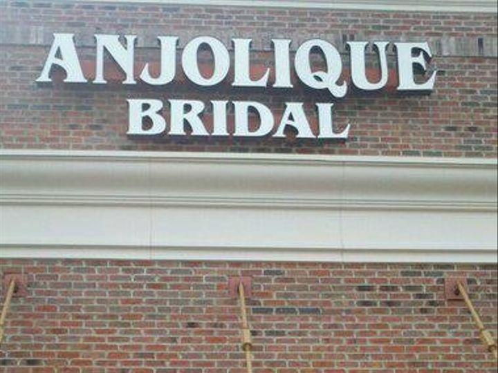 Tmx 1366844053112 Anjolique Storefront 3 Cornelius, North Carolina wedding dress