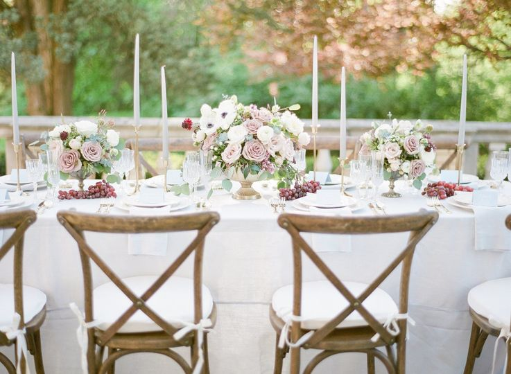 Laurel Hall Tablescape
