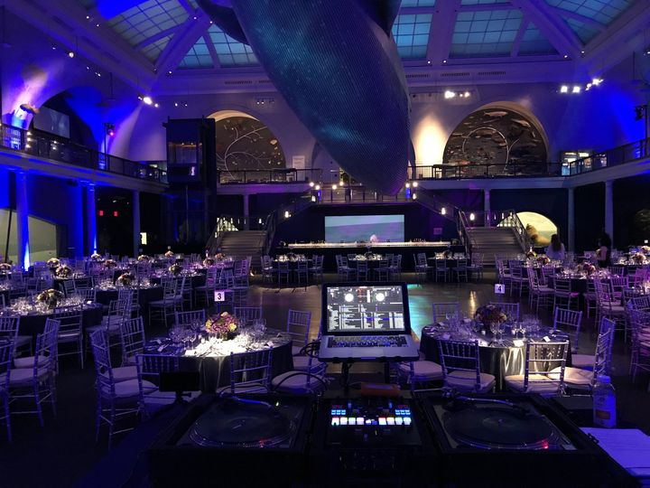 Party at the american museum of natural history.
