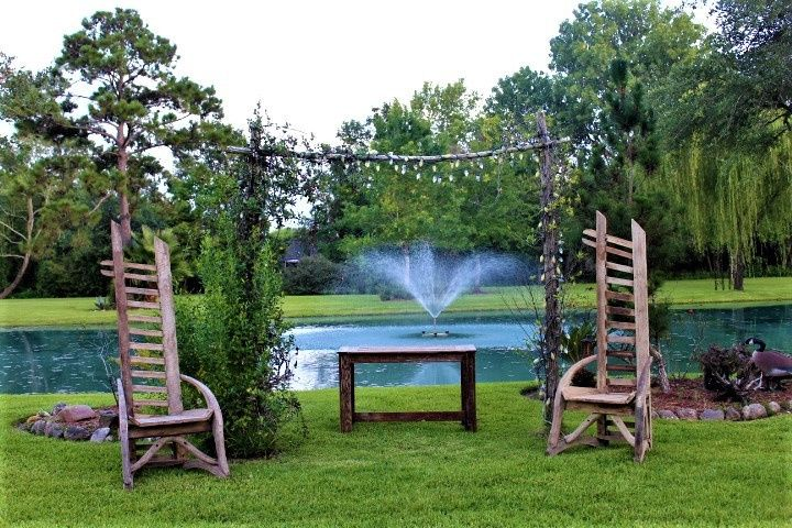 Mr & Mrs. chairs lakeside