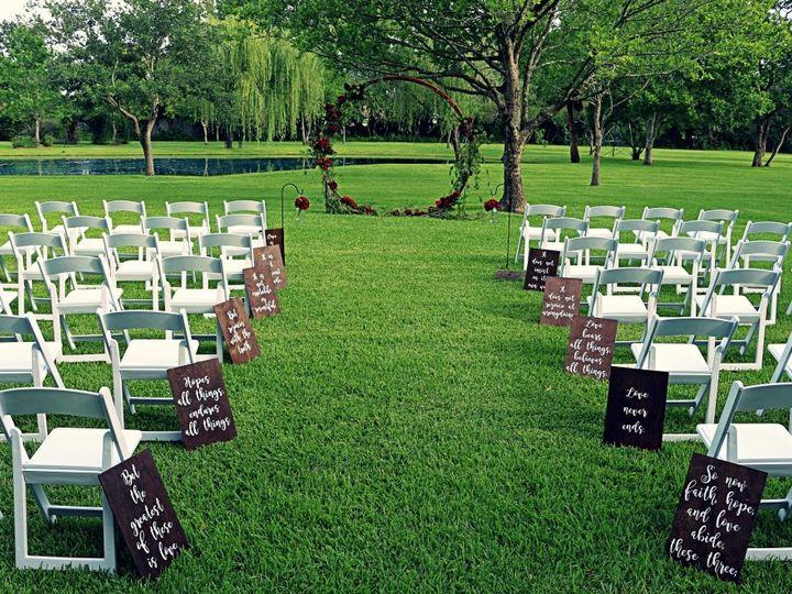 Tmx Outdoor Ceremony W Infinity Arbor 51 127672 159424134522946 Kemah, TX wedding venue