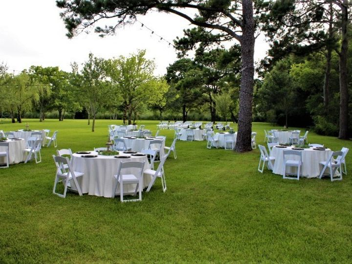 Tmx Reception Setup Under The Trees July2020 51 127672 159424133527139 Kemah, TX wedding venue