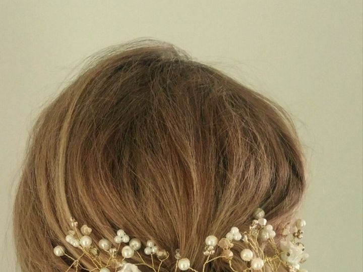 Tmx 1497112709228 Gold Hair Vine.jpg Exton, PA wedding favor