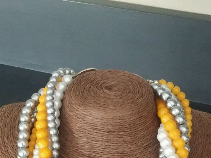 Tmx 1499092853315 7 Strand Pearl Necklace On Stand Exton, PA wedding favor