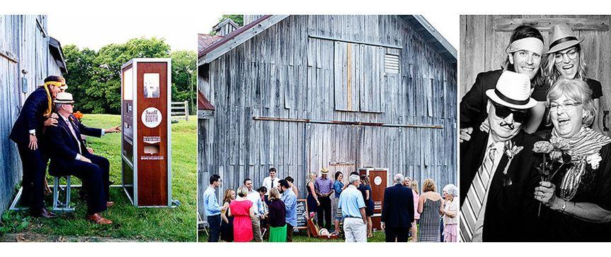 A barnyard celebration