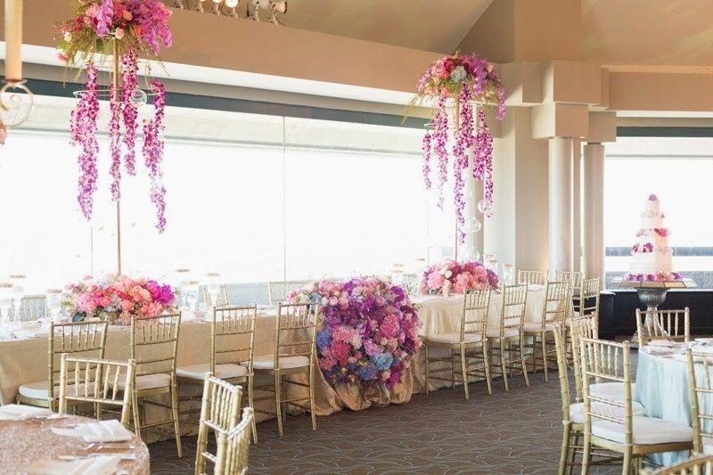 Reception decors