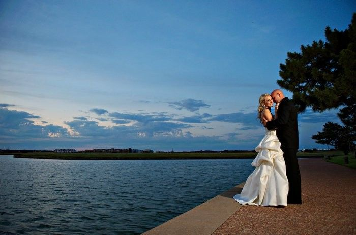 Tmx 1435770310972 Ashley And Groom On Canal Irving, TX wedding venue