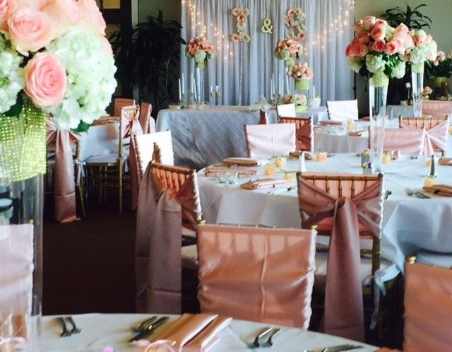 Tmx 1490399752670 Lr Pink And White Wed Dinner With Altar Area Irving, TX wedding venue