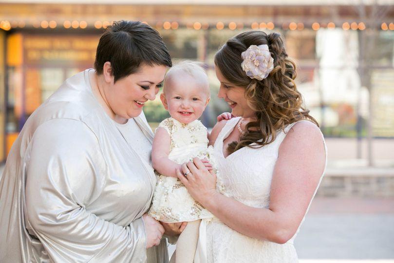 same sex wedding brides daughter bright box winchester virginia julie napear photography 51 23772