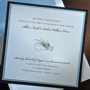 Tmx 1276045515226 BlueonBrownE Cumberland wedding invitation