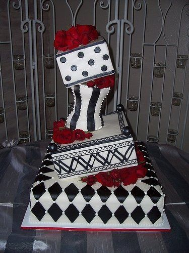 We can go from extreme cakes to something more traditional. Just choose your cake, and we will take...