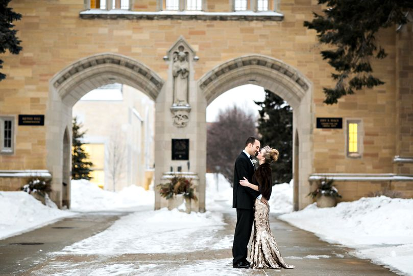 St. Paul Winter Wedding
