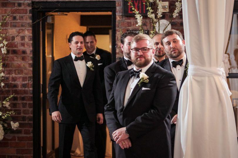 All the groomsmen