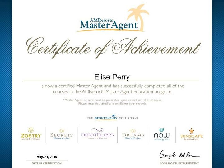 Tmx 1440508586535 Certificate Eliseperry Toms River wedding travel