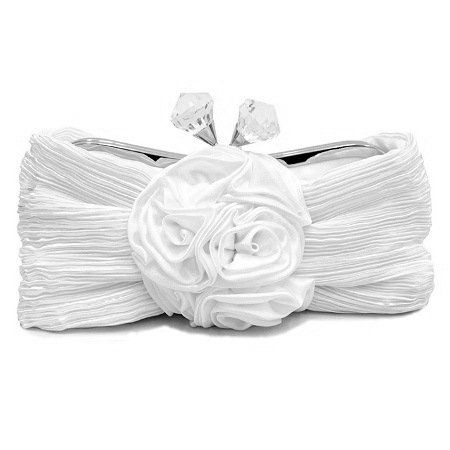 White Evening/Cocktail Purse. Perfect for Brides.