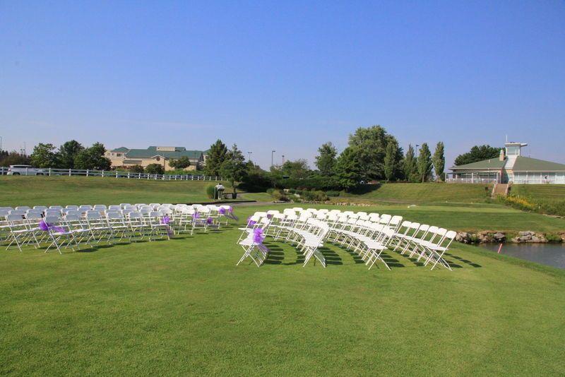 Outdoor weddings setup