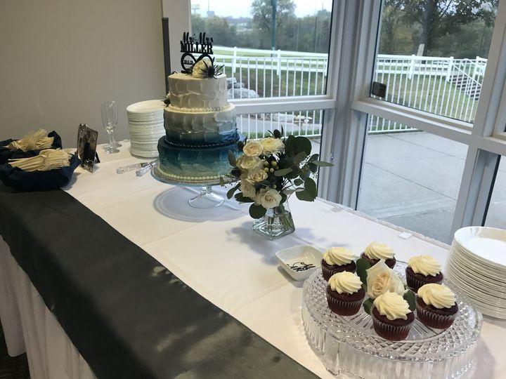 Cake table for receptopn