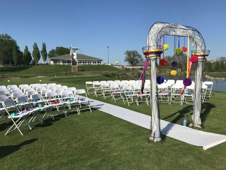 Tmx 1526417990 B3552e9cb6c38754 1526417987 886e3022bac29a9a 1526417987407 5 Tee Ceremony3 Blue Springs, MO wedding venue