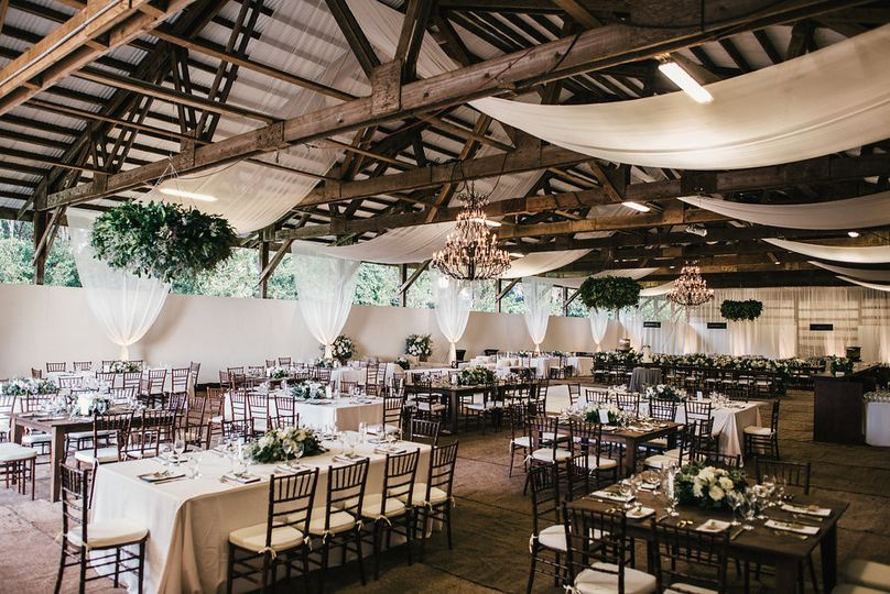 Rustic ambience at Sunset Stables