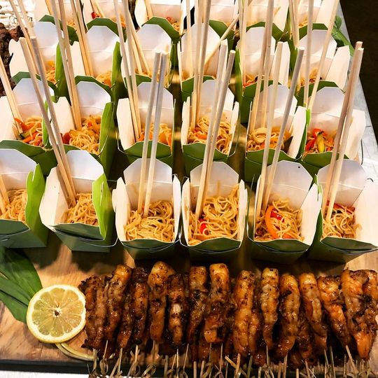 Asian-cuisine station