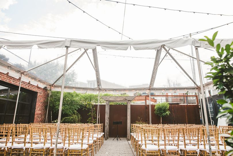 Beautiful wedding tent
