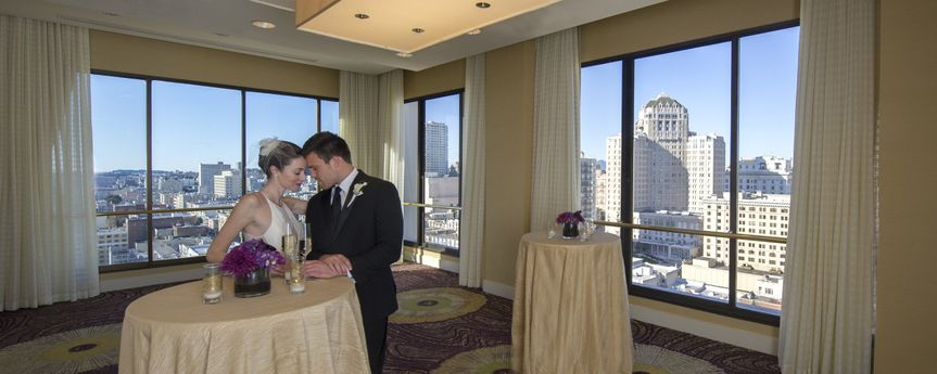 Skyline views of San Francisco are just another way you can bring the city to your ceremony.
