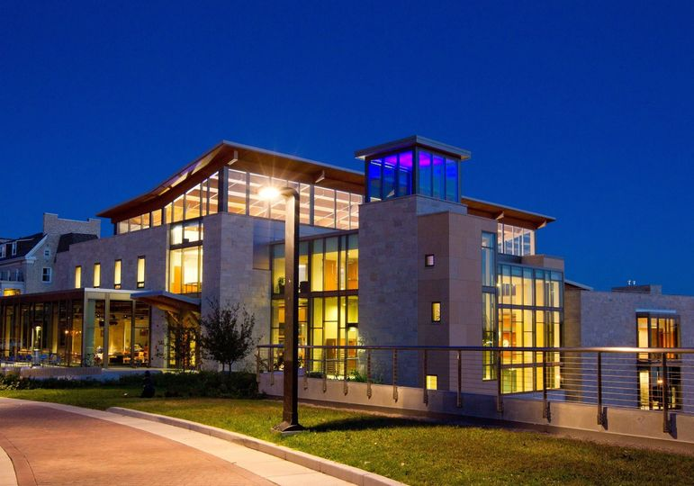 Exterior view of the Lawrence University Warch Campus Center