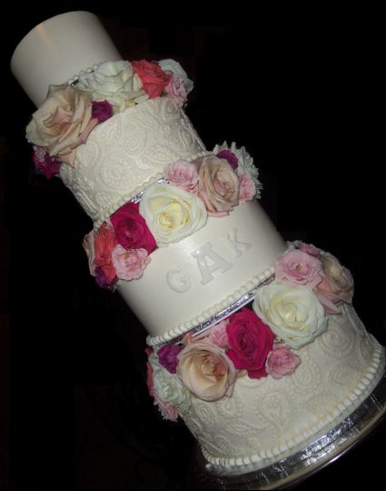 Wedding cake sample