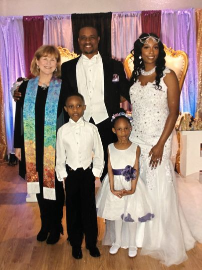 A beautiful family wedding!