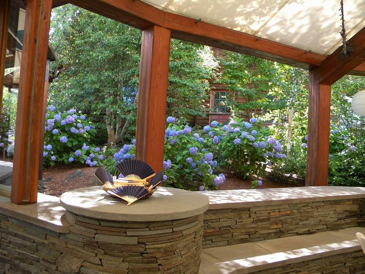 The Pavilion offers beautiful natural landscapes