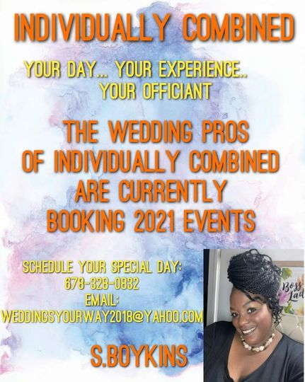 CURRENTLY BOOKING 2021 EVENTS