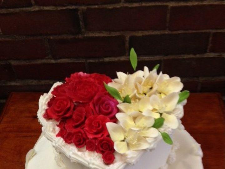Tmx 1398270293952 Heart Wedding Cak New York, New York wedding cake
