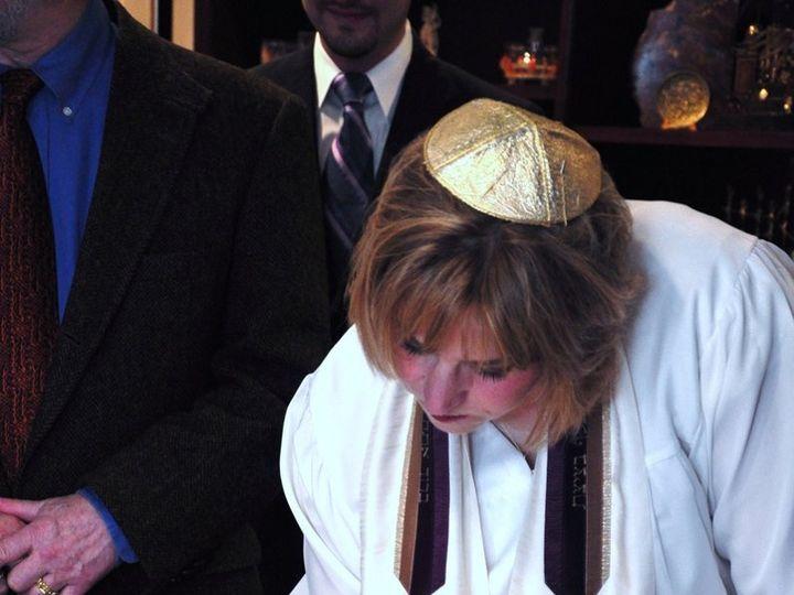 Tmx 1359744677984 RabbiSharisignsKetubah Newark wedding officiant