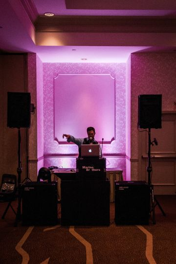 Marino Brothers DJ booth