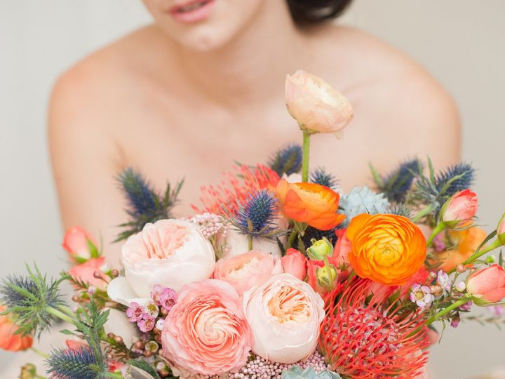 Tmx 1423693845605 Mikkelpaige Styledshoot Onebridefourways Desertsou Brooklyn wedding florist