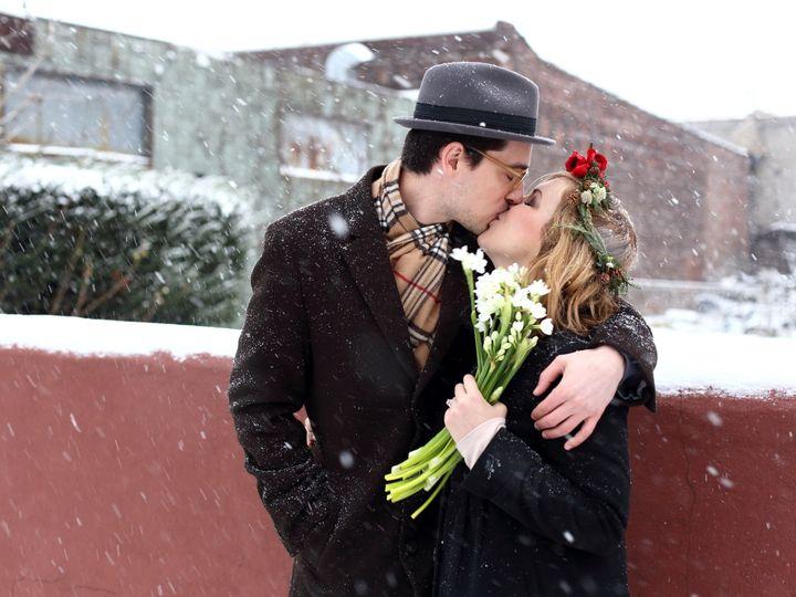 Tmx 1423696155128 Kissing Brooklyn wedding florist