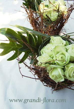 whitegreenarrangement
